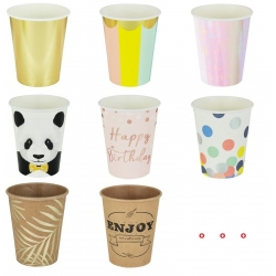 Paper Coffee And Drink Bulk Cups With Lids