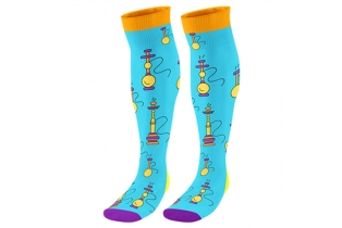 China Wholesale Custom Knee High Trampoline Socks Non Slip Socks factory